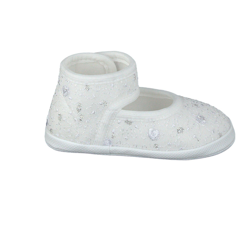 Weiß Pantau Babyschuhe Babyschühchen Erstlingsschuhe Taufschuhe Erste Schuhe