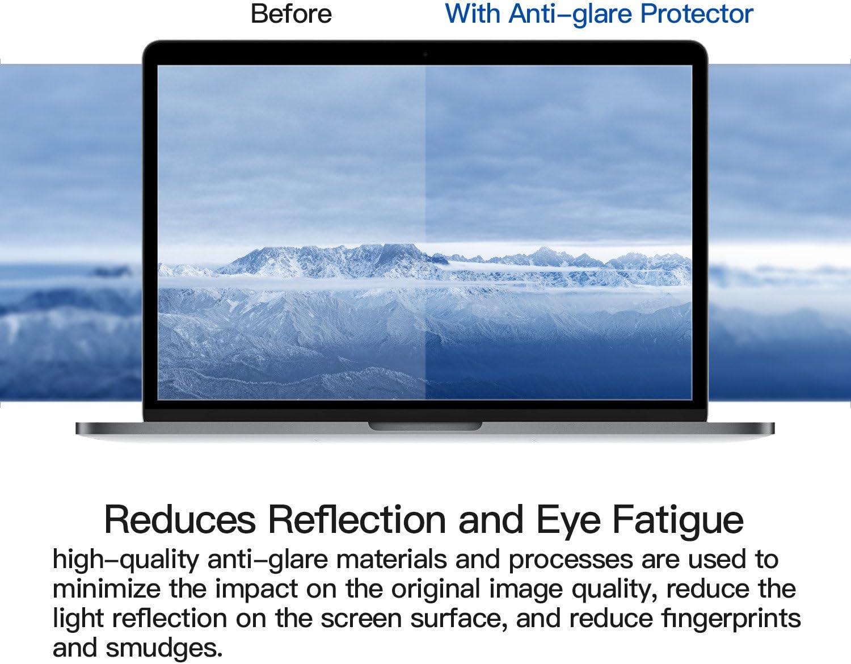 13 A2289 A2179 antigraffio opaca pellicola protettiva schermo 2 pellicole proteggi schermo per Apple MacBook Pro 13? A2251 A2289 A2159 Air 13?