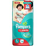 Pampers New Large Size Diapers Pants (48 Count)