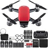 Drone Dji Spark Full Hd de 12mp Fly More Combo - Vermelho