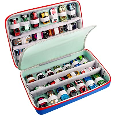 GWCASE Case Compatible with Hot Wheels Cars.Storage Carrying Organize Holder Fits for 36 Hotwheels Cars Pack.(Box Only): Toys & Games