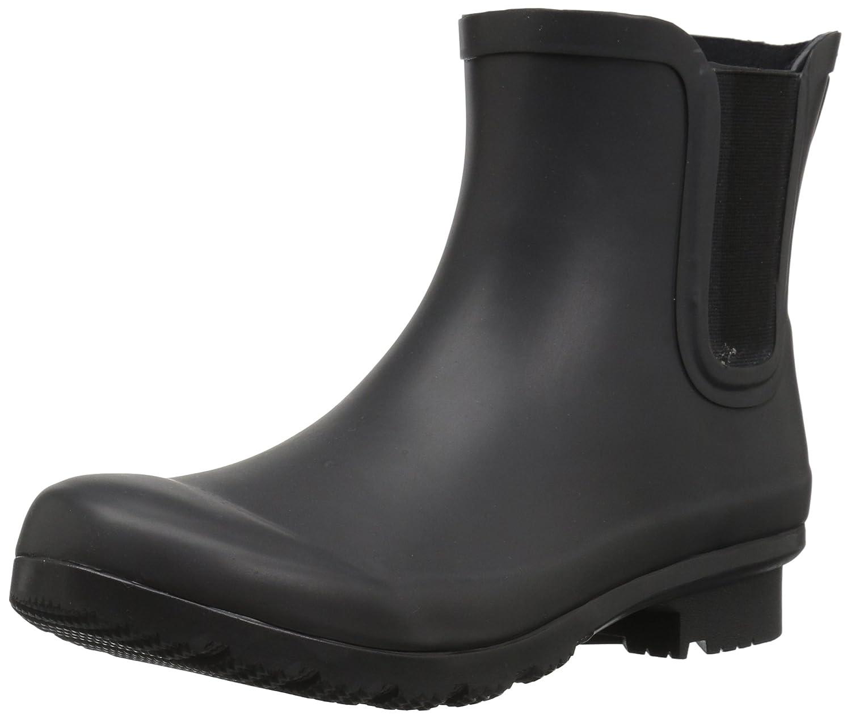 Matte charcoal Roma Boots Women's Chelsea Rain Boots