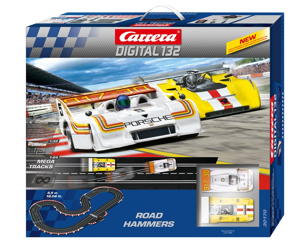 Carrera Digital 132 Road Hammers Race Set