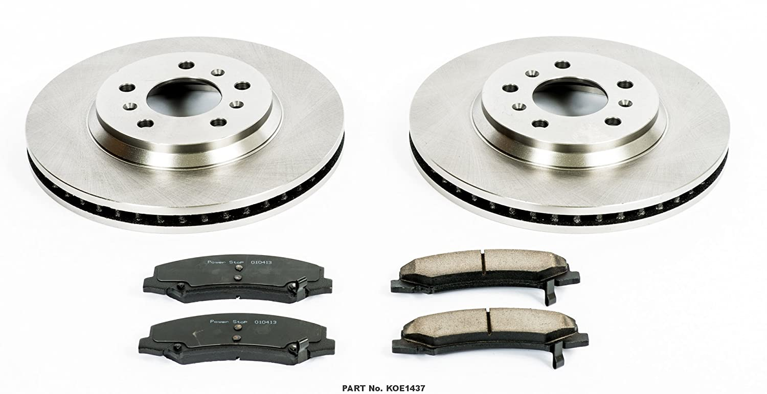 Autospecialty KOE1437 1-Click OE Replacement Brake Kit