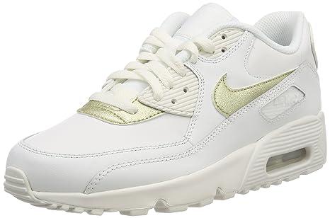 Nike Air MAX 90 LTR (GS), Zapatillas de Gimnasia para Niñas
