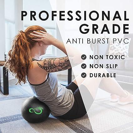 Amazon.com: Bomba de mano y bola de pilates de 9 pulgadas ...