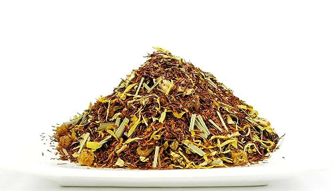 Amazon.com : Lemon ginger rooibos caffeine free loose tea 1 LB ...