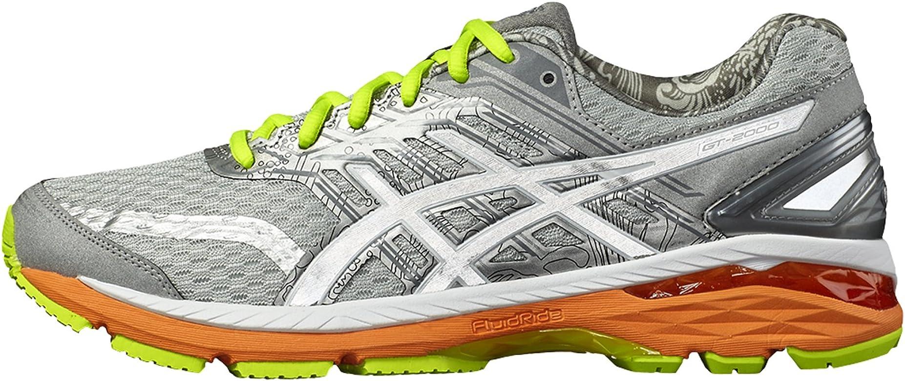 Zapatillas de deporte Asics GT de 2000 5 para hombre, T711 N-9601 gris, gris, EU 41,5: Amazon.es: Deportes y aire libre