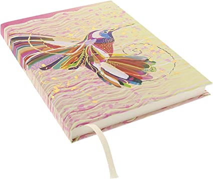 Goldbuch Notizbuch A5 net Flower Kolibr Notizbuch