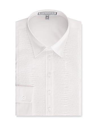 b5b3928bdd8d2 HAWES   CURTIS Womens Boutique Semi Fitted Shirt Smocking Detail - Single  Cuff