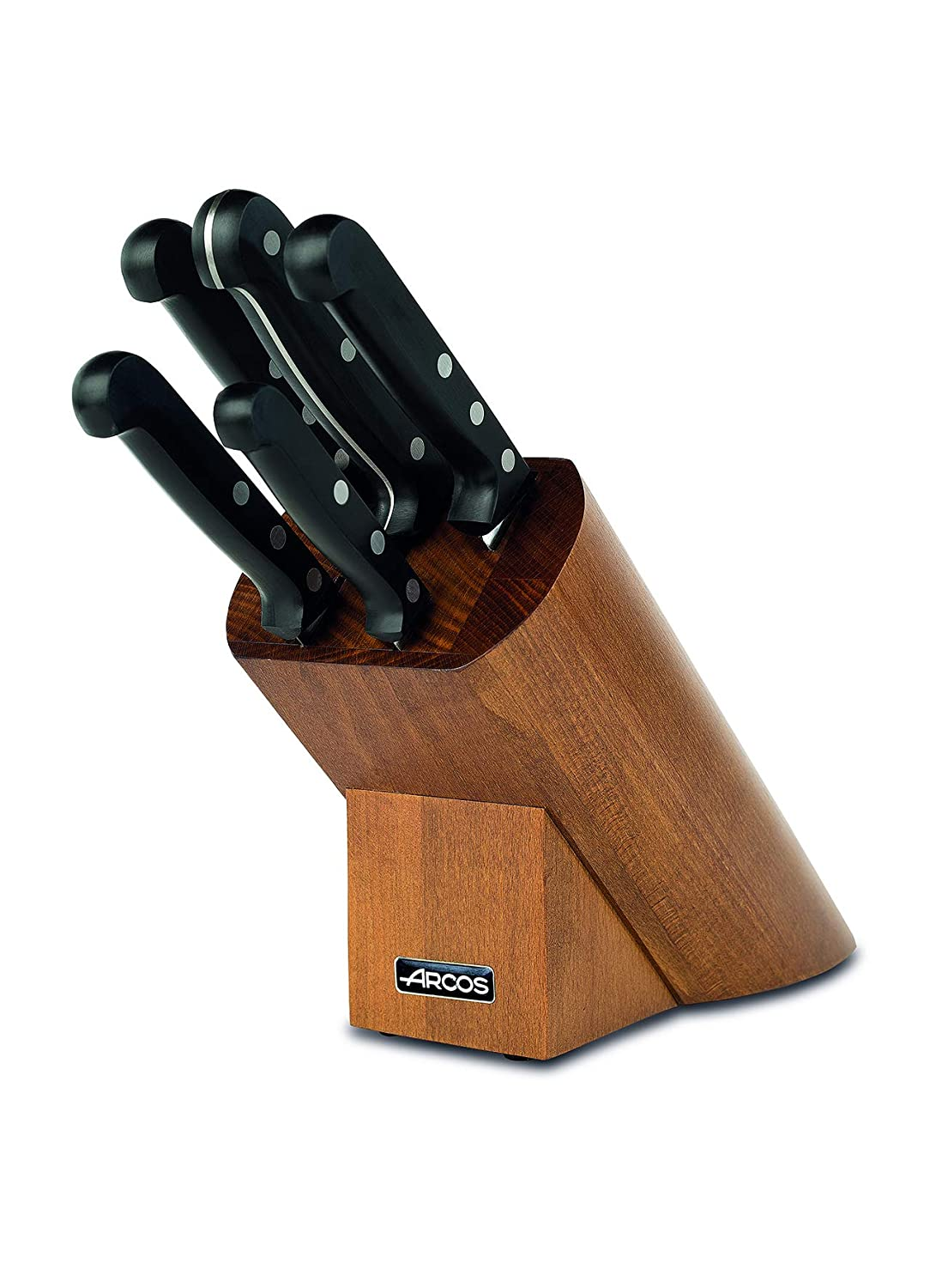 Amazon.com: Arcos 6-Piece Universal Slicing Knife Block Set ...