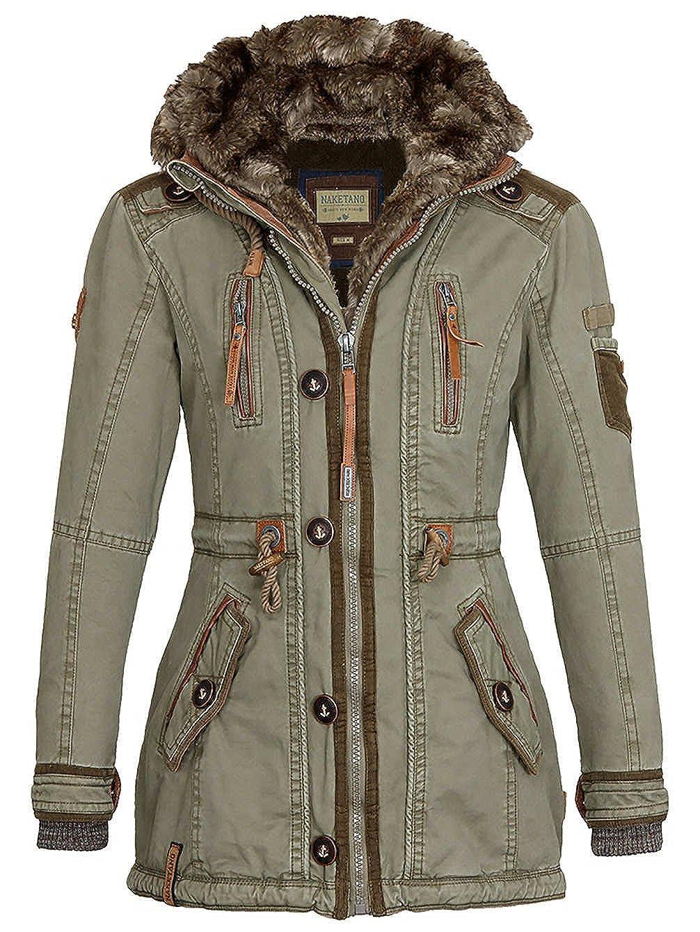 Naketano Damen Mantel Haubitze II Coat