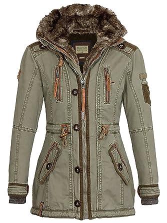 Naketano Damen Mantel Haubitze II Coat  Amazon.de  Bekleidung cb9de4821e