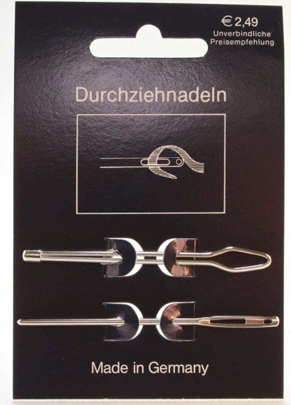 Smyrna Sticknadel Durchziehnadel Wollnadel 6 cm 5 Stück !! Germany