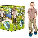 My First Flybar Stilts - Stomp & Squeak Foam Stilts For Kids 3 & Up (Blue)