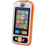 VTech Touch and Swipe Baby Phone (Frustration Free Packaging), Orange