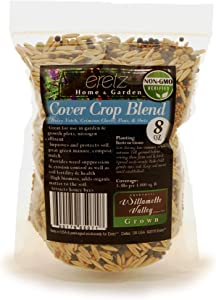 Cover Crop Seed Blend by Eretz (8oz) - Choose Size! Willamette Valley, Oregon Grown, Non-GMO, No Fillers, No Weed Seeds.