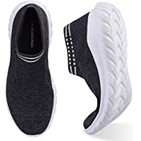 La Dearchuu Walking Shoes for Women Slip-On Fashion Sneaker for Women A Versatile Pair That Can Be Worn for Workout Running Go to Work and Walking It's Breathable Non-Slip Lightweight