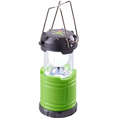 HABA Terra Kids Camping Lantern with Sturdy Handles for Carrying & Hanging and Handy Storage Compartment: Toys & Games