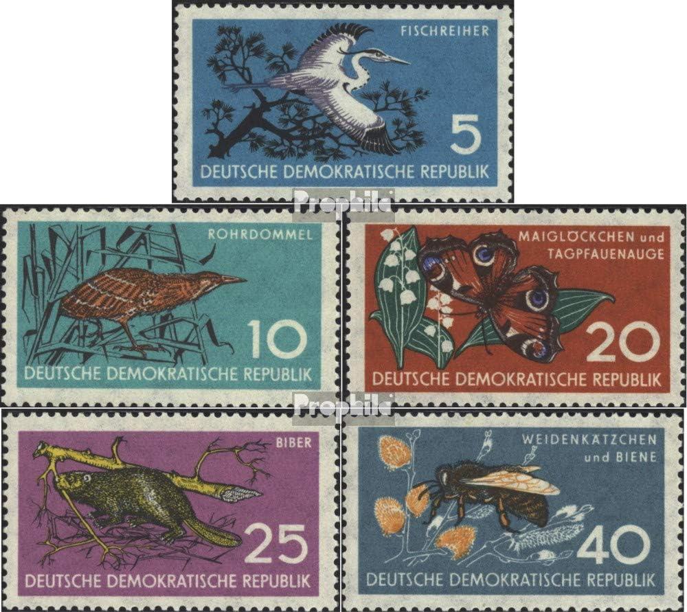 kompl.Ausgabe 1959 Naturschutz Briefmarken f/ür Sammler V/ögel Prophila Collection DDR 688-692