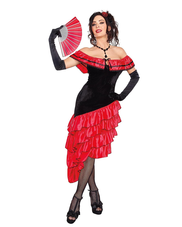Dreamgirl 10311 Gemüsebürste Fröhliche Spanisch Dancer Kostüm (mittel)