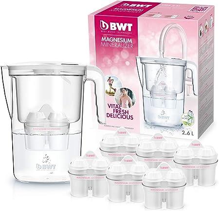 BWT Filtri Magnesio per Caraffa filtrante Confezione da 3+1