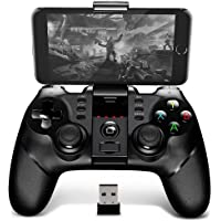 BINDEN ÍPega PG-9076 Control Inalámbrico para Smartphone, PS3, Tablet, Emulador, Windows, Función Turbo, 12 Horas de Juego