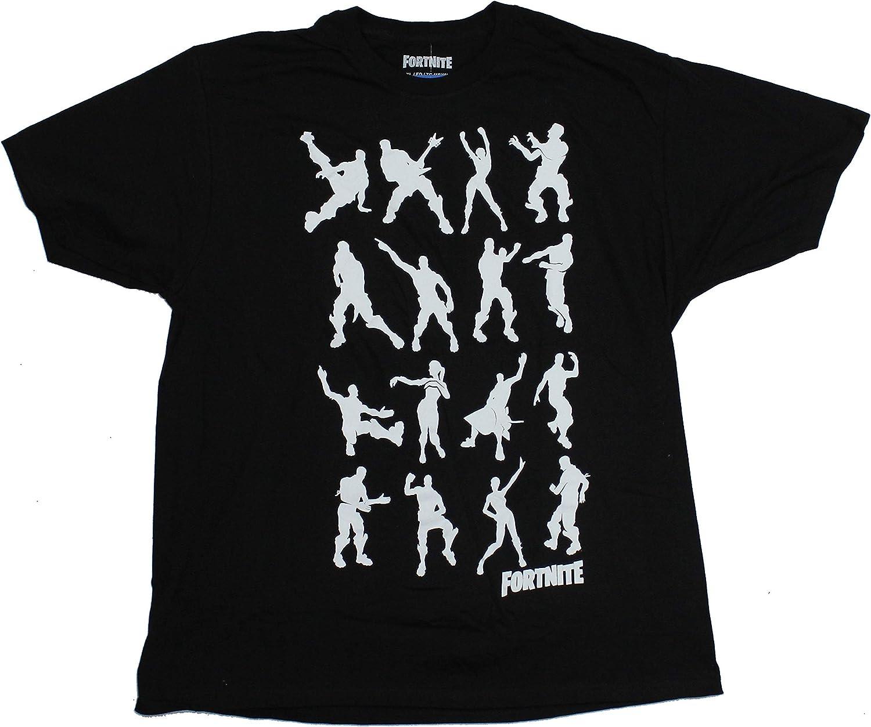 Mad Engine Fortnite Dance Dance Adult Black T Shirt Amazon Com