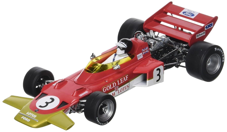 Unbekannt QUARTZO – 18273 – Fahrzeug Miniatur – Lotus 72 C – GP Spanien 1970 – Echelle 1/18, rot/Gold