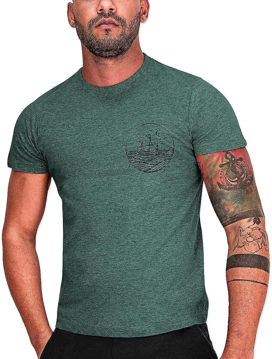 VIENTO Drifter Camiseta para Hombre
