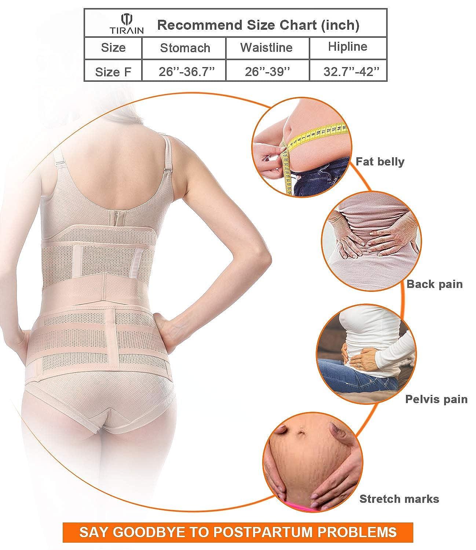 Erholung Bauch//Taille//Becken G/ürtel-Taille G/ürtel Atmungsaktiv postnatal bauchgurt /& Postpartum Band /& nach der Geburt bauchg/ürtel 3 in 1 Postpartale Unterst/ützung