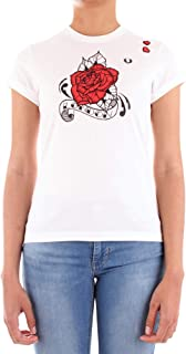 Fred Perry SG5130 T-Shirt Donna Bianco 10