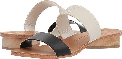 Womens Pacey Flat Sandal, Black Stella, 9.5 M US Dolce Vita
