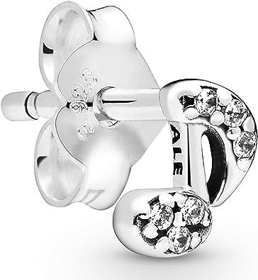 Oferta amazon: Pandora Pendientes de botón Mujer Plata esterlina No aplicable - 298366CZ