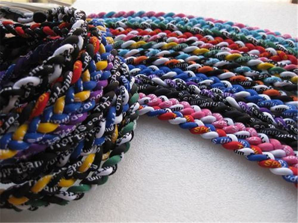 LHHY Package 12 Assorted Tornado Titanium Necklaces 2