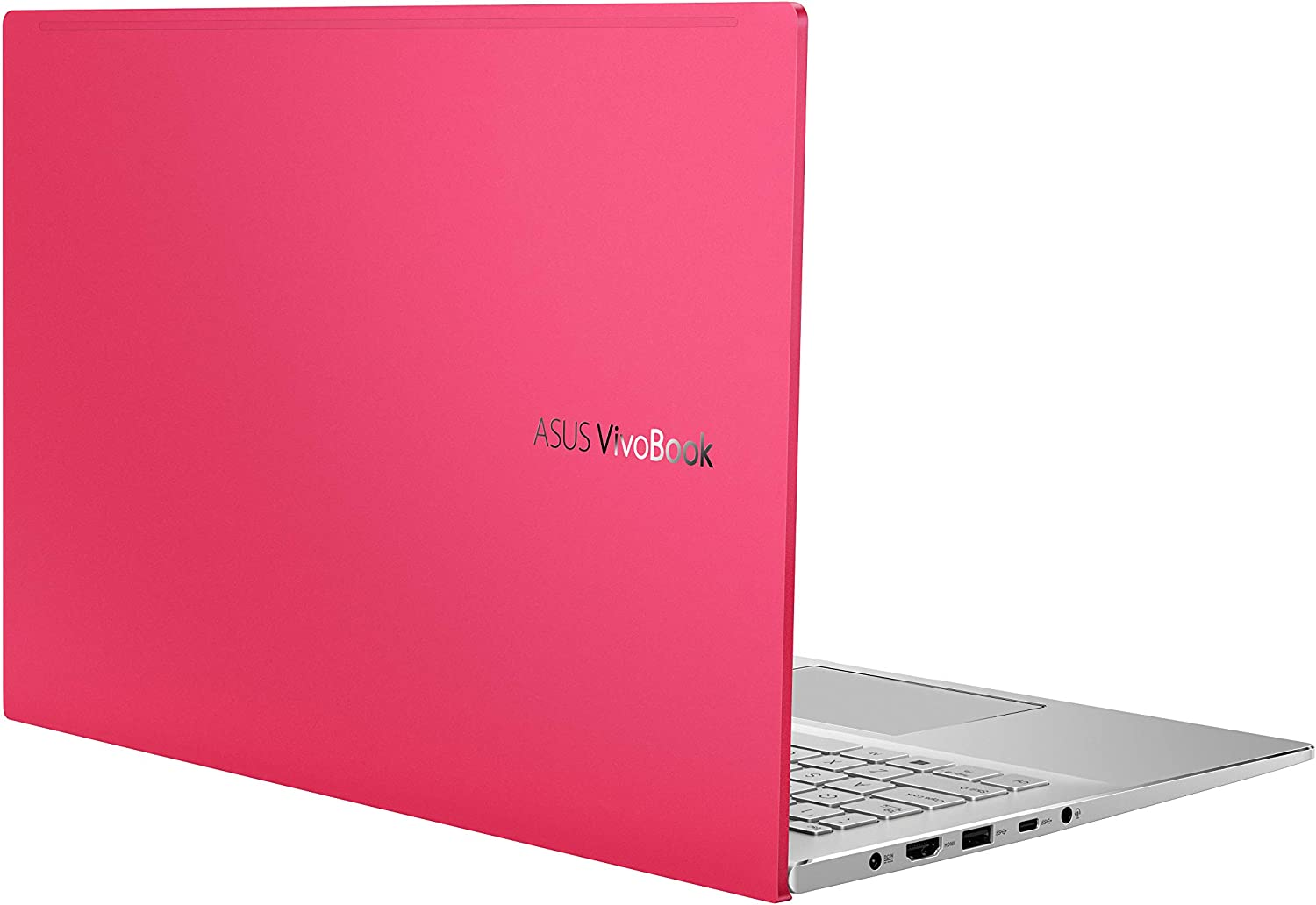 "ASUS VivoBook S15 S533 Thin and Light Laptop, 15.6"" FHD Display, Intel Core i5-10210U CPU, 8GB DDR4 RAM, 512GB PCIe SSD, Windows 10 Home, Resolute Red, S533FA-DS51-RD"