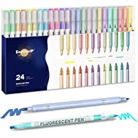 24-Pack EooUooIP Pastel Highlighters Pen Deals