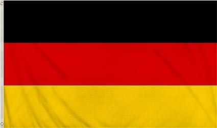 Storm/&Lighthouse German Flag 5ftx3ft