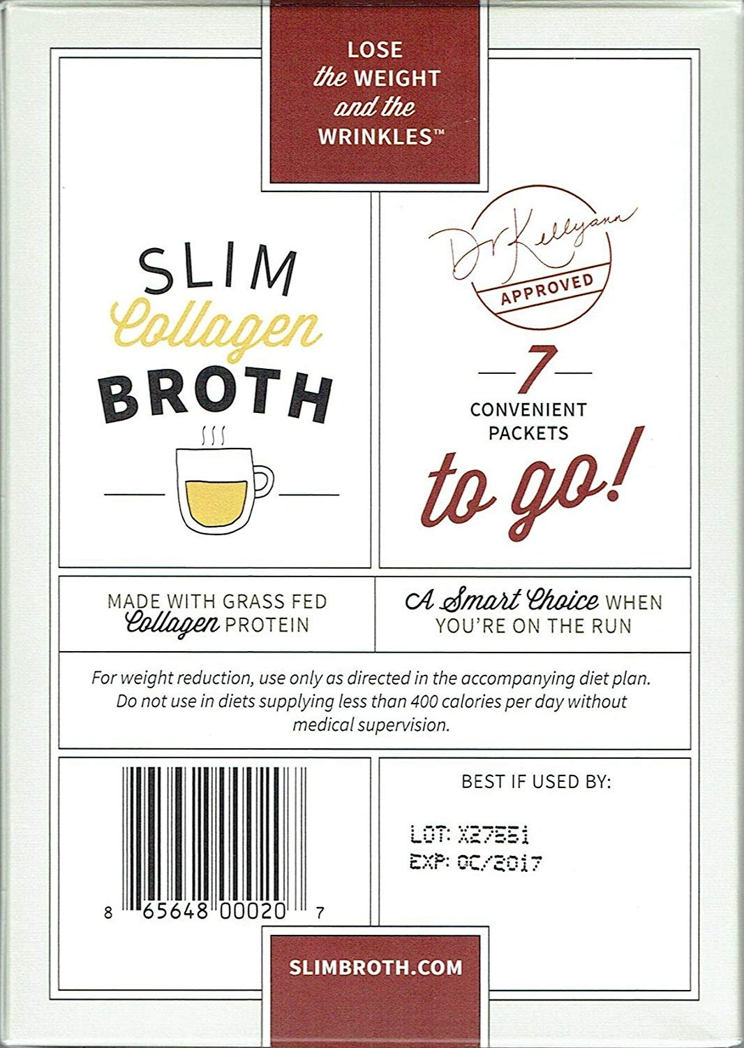 Bone Broth Collagen To Go Packets: (7 servings per box) from Bone Broth Expert Dr. Kellyann | 100% Grass-Fed Collagen | Daily Serving of Collagen by Dr. Kellyann (Image #4)