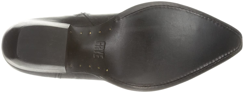 FRYE Women's Shane Tip Short Western Boot B01BNUM8Q4 9.5 B(M) US|Black