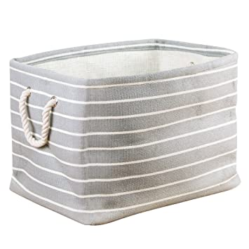 Beautiful InterDesign Luca Fabric Storage, Bin With Handles For Blankets, Pillows,  Clothing, Towels