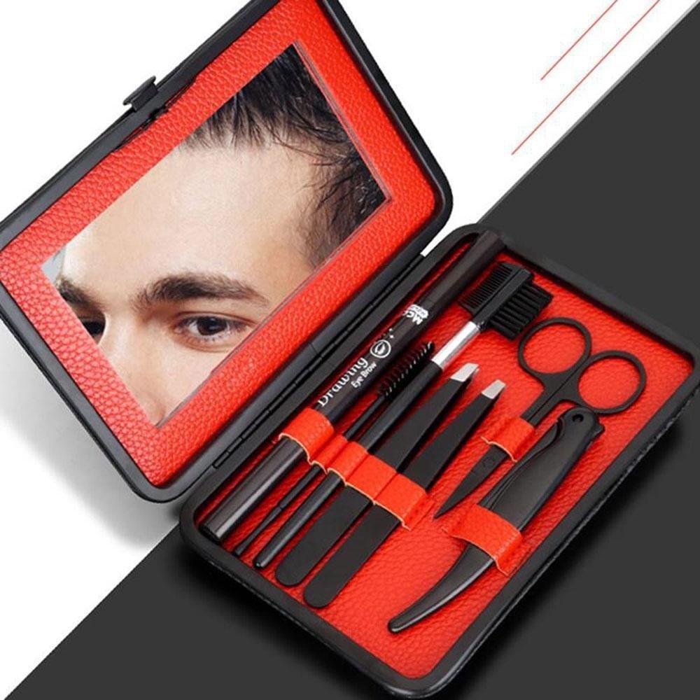 284897e8e8aa Eyebrow Grooming Set, Leegoal Eyebrow Grooming Suit Kits with Stainless  Steel Scissors, Eyebrow...