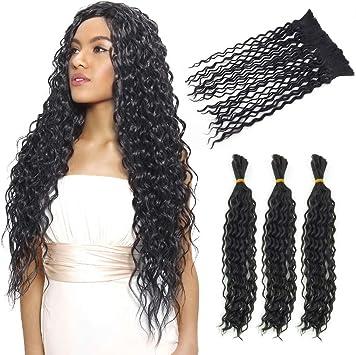 Extensiones de cabello humano de 4 unidades, extensiones de tejido ...