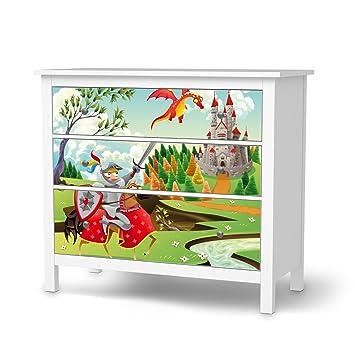 Creatisto Aufkleber Möbel Für Ikea Hemnes Kommode 3 Schubladen