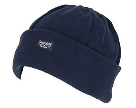 Ladies Thinsulate Polar Fleece Hat In Purple fafe9ae3445