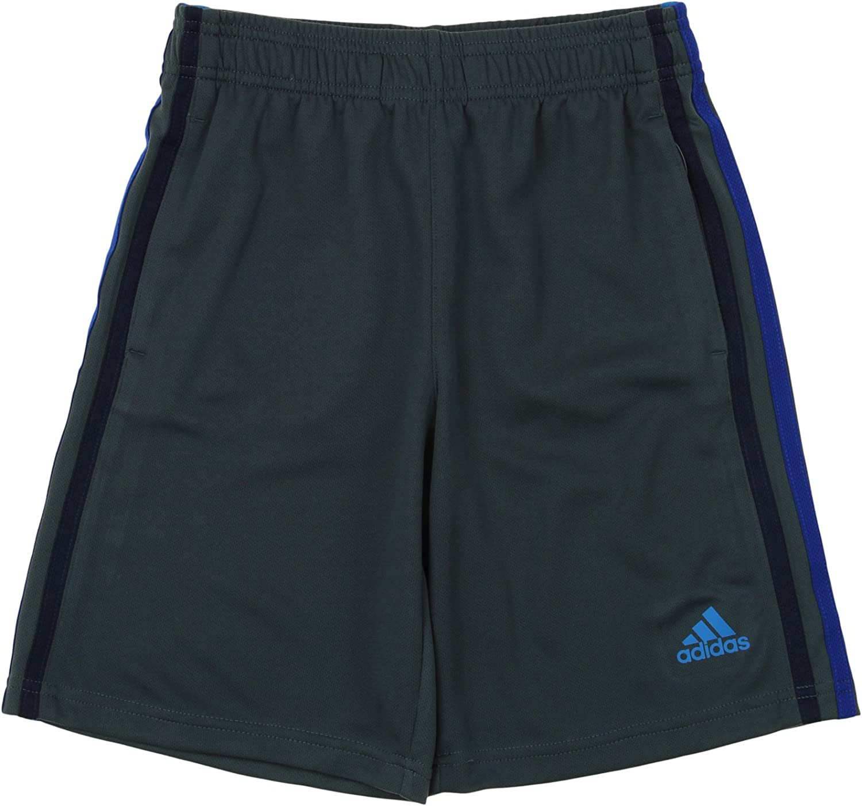 adidas Big Boys Youth 3-Stripe Mesh Performance Shorts