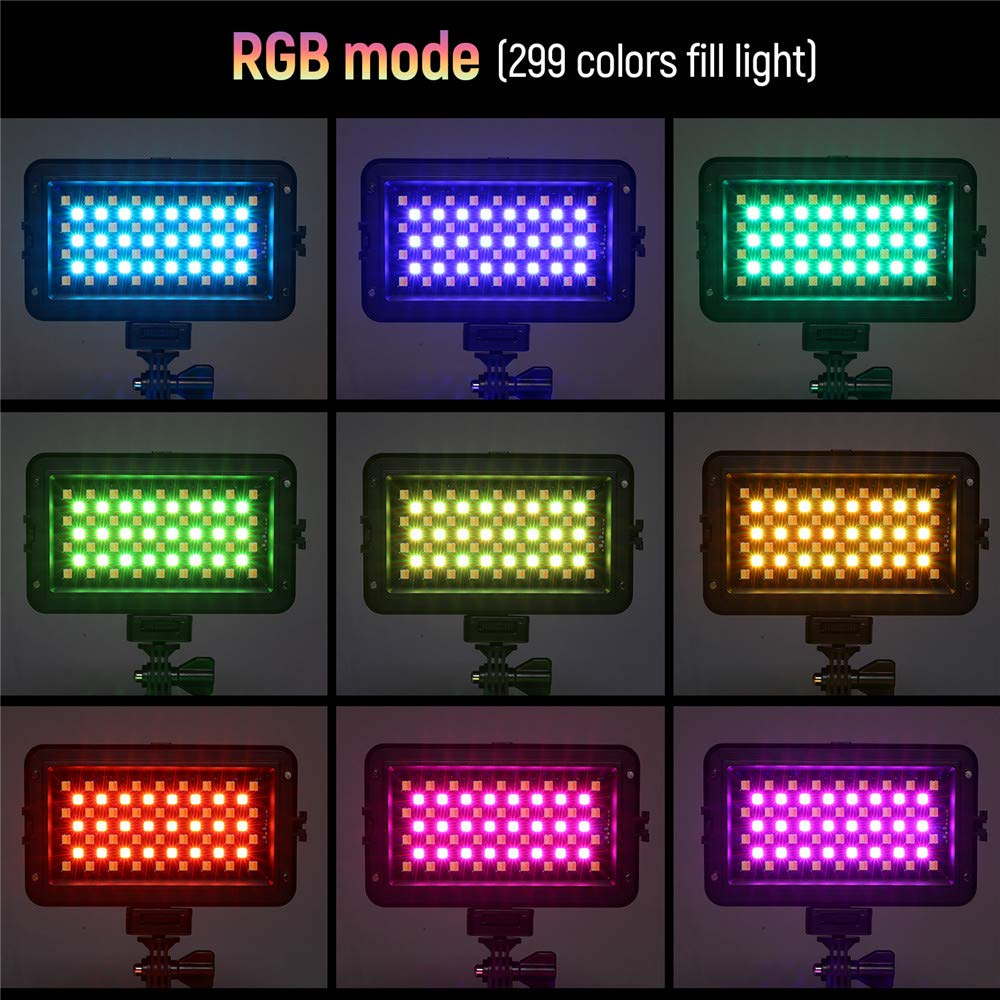 VILTROX RB10 RGB Video con cámara LED, CRI 95+ Videocámara ...