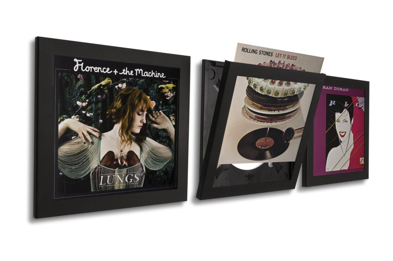 Play & Display Record Frame Triple Pack (Black)