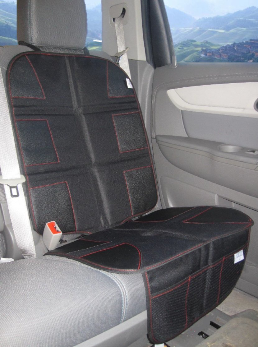 PREMIUM OXFORD Luxury Car Seat Protector - Durable 600D OXFORD Material, Black Leather by Luliey (Image #3)
