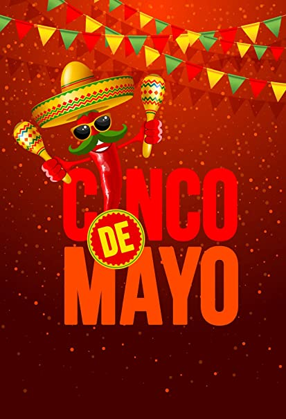 Kate 10x10ft 3x3m May 5 Mexican Carnival Backdrops Cinco De Mayo Party Photography Background